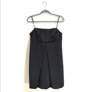 NWT A.B.S. Collection Strapless Black Dress